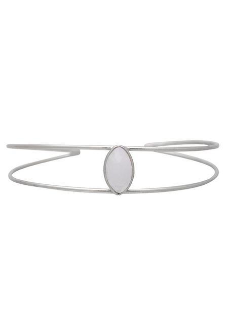 Sarah Mulder Dreamer Cuff - Silver (3 Stone Options)