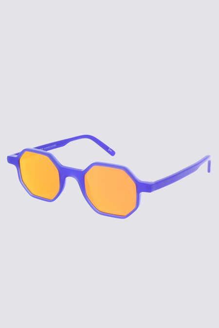 Andy Wolf Acetate Alfons Sunglasses - Purple
