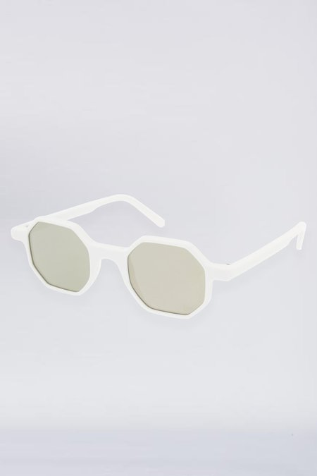 Andy Wolf Acetate Alfons Sunglasses - White