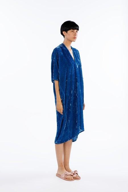 Miranda Bennett Muse Dress Velvet in Versailles