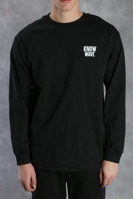 KNOW WAVE Public Domain Long Sleeve