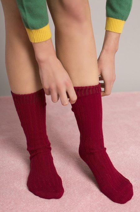 Makeda Matheson Cashmere Bed Socks