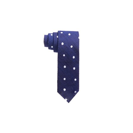 Post-Imperial Dotted Tie - Indigo