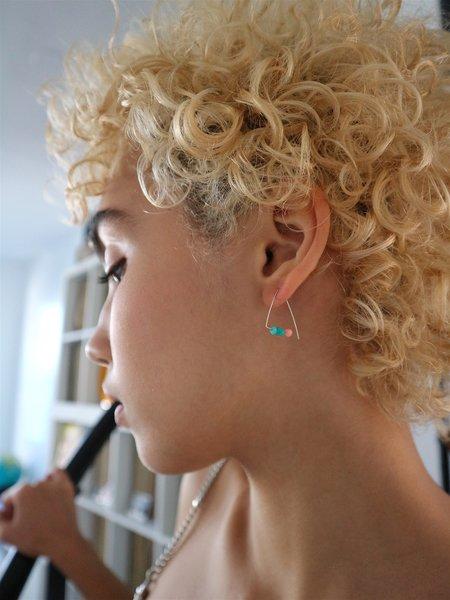 Melissa McArthur Petite Triangle Hoops