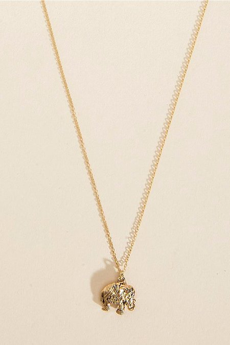 Haati Chai Petite Elephant Necklace