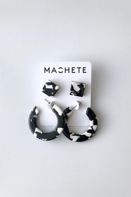 Machete Noir Tortoise Gift Set