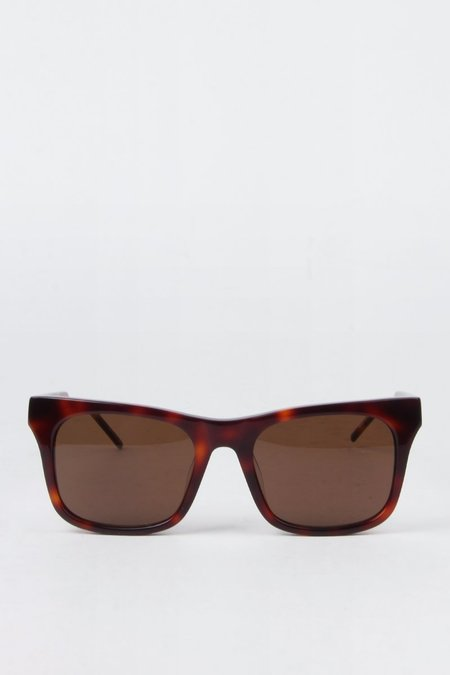 Unisex Kaibosh Bob Cat Sunglasses - Dark Havana
