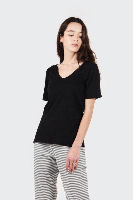 Kowtow Building Block V T-Shirt - Black