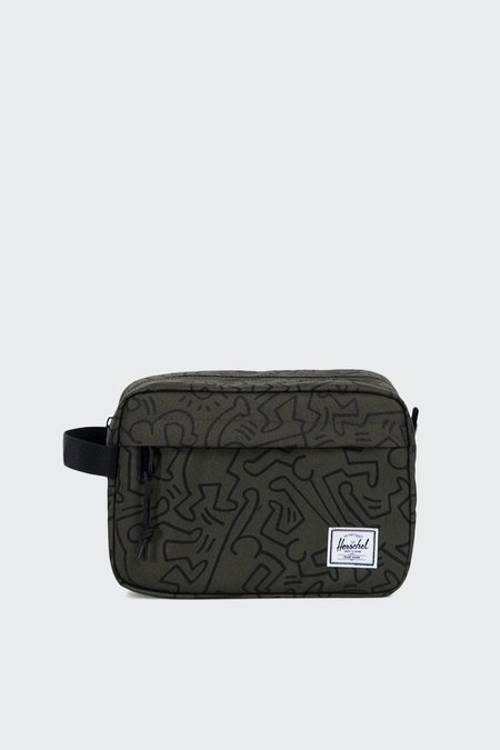 Herschel Supply Co Chapter Dopp Kit - Forest night keith haring