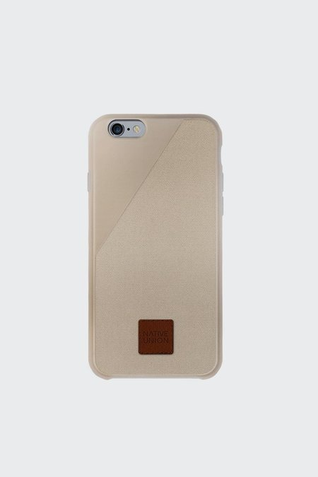 Unisex Native Union CLIC 360° iPhone Case - Sand