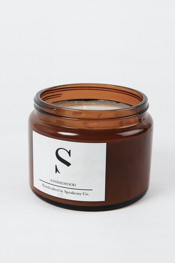 SPEAKEASY Large Sandalwood Candle