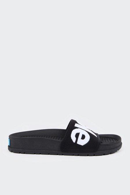 PEOPLE FOOTWEAR Lennon Knit Slide - really black