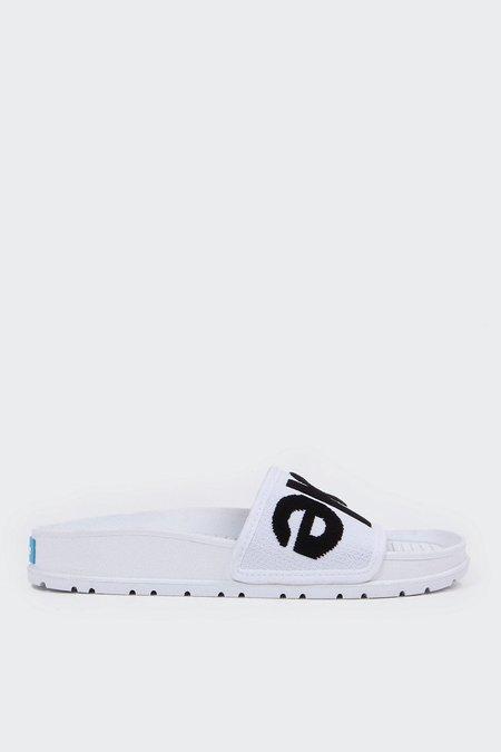 PEOPLE FOOTWEAR Lennon Knit Slide - yetti white