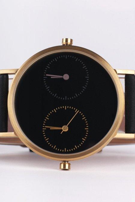 Kitmen Keung Long Distance 1.0 Watch - Black/Gold