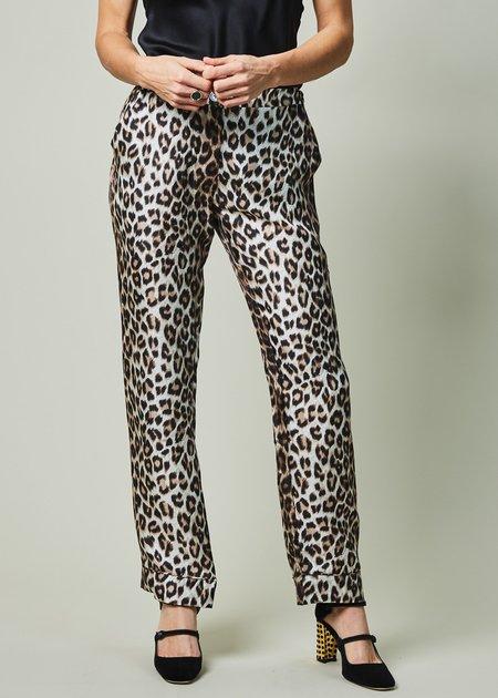 La Prestic Ouiston NY Silk Pant - Classic Panther