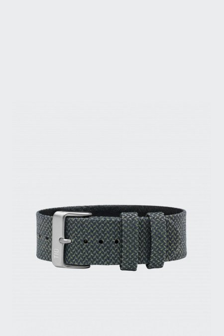 TID Watches Wristband - twain pine/steel buckle