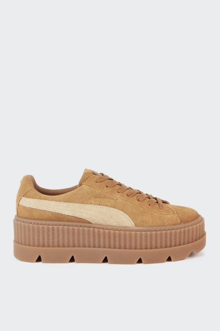 Puma X Fenty Cleated Creeper Suede - golden brown/lark