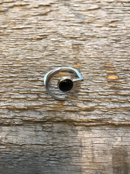 Wasted Effort Here and There Ring - Black