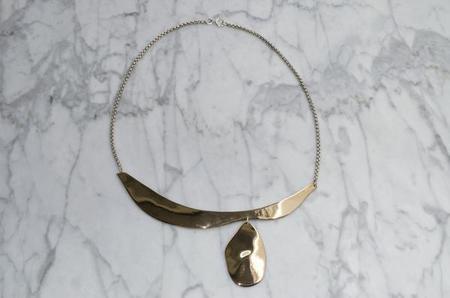 NEAL Jewelry Splash Necklace - Bronze
