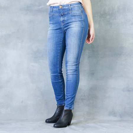 Closed Jeans Skinny Pusher in New Blue