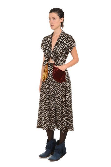 Lindsey Thornburg Patchwork Clark Dress