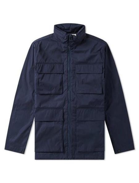 Norse Projects Navy Skipper Double Dyed Jacket