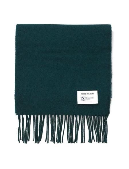 Norse Projects X Johnston's Moss Scarf