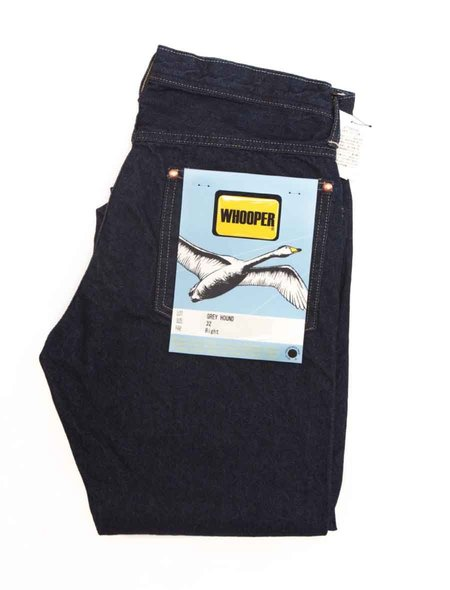 Whooper Jeans Greyhound Denim - Indigo
