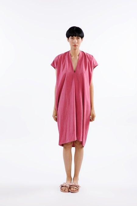 Miranda Bennett Ed. VIII Everyday Dress Silk Noil in Rio