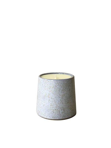 Little Garage Shop 8 oz.Dirty Candle - White