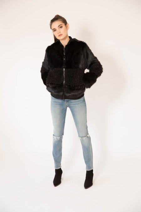 John and Jenn Amy Faux Fur Jacket