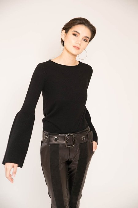 THE LINE Fiona Bell Sleeve Sweater
