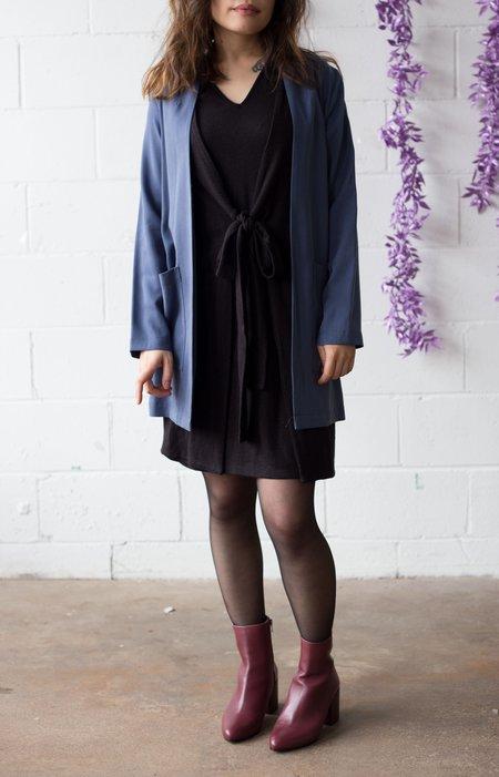 Amanda Moss Iris Blazer - Blue