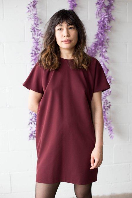 Body Bag Trudeau Dress - Burgundy