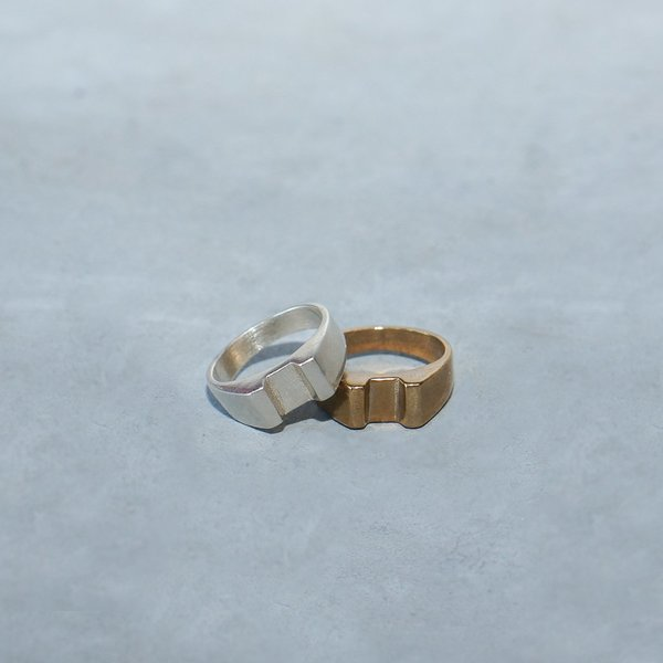 Unisex Seaworthy Norde Ring in Brass