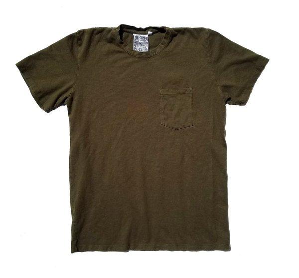 Baja Short Sleeve Pocket Tee / supply green
