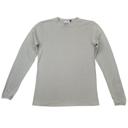 Jungmaven Baja Long Sleeve 7oz Hemp - stone gray