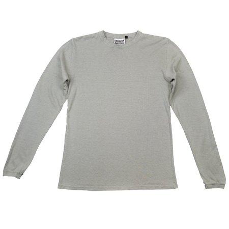 Jungmaven Baja Long Sleeve 7oz Hemp - stone gray