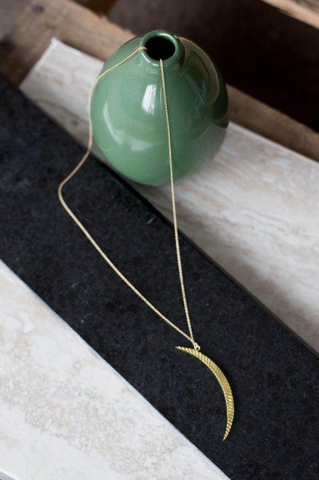 Sarah Mulder Luna Necklace - Gold (Large)