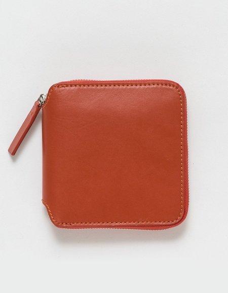 Baggu Square Wallet Brick Red