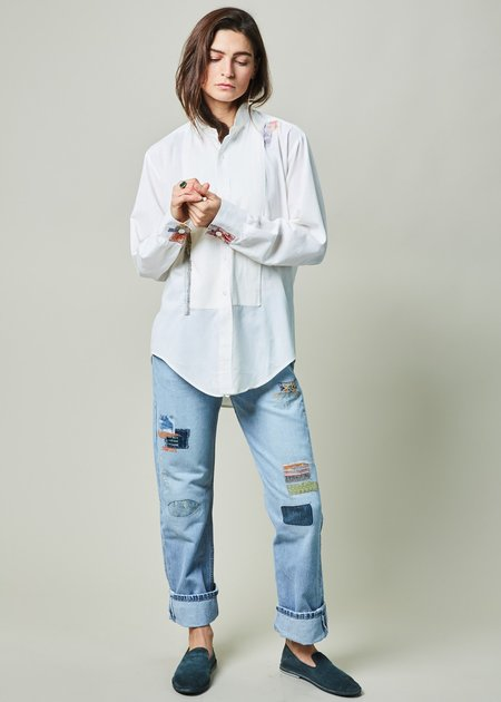 Imperfect Sun Restyled Tuxedo Shirt