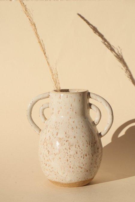 Basin and Range Speckled Medium Vase