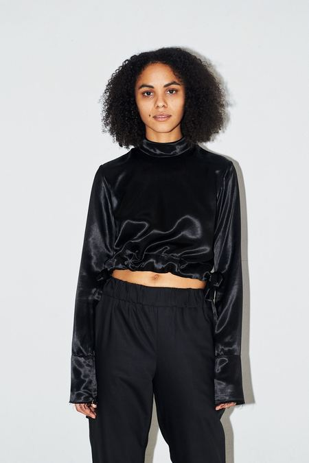 Assembly New York Satin Turtleneck
