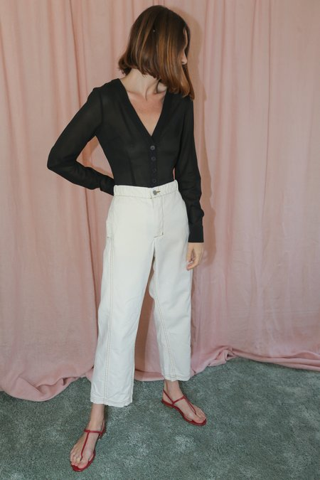 Rachel Comey Steer Pant in Natural Canvas