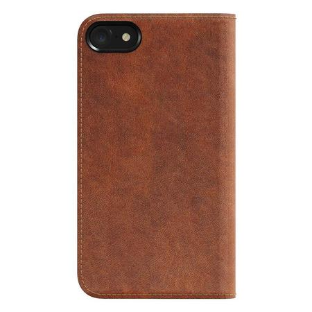 Nomad Horween Leather Folio Wallet for iPhone - Brown