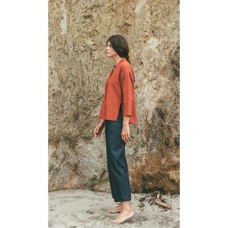 Ozma Kimono Wrap in Redwood