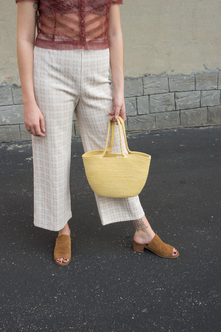The Northern Market Natural-Dyed Handbag - 1 In Stock