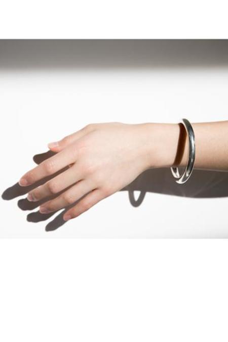 West End Select Shop Chunky Sterling Silver Tube Bracelet