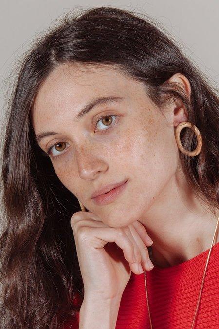 Sophie Monet Minimal Ring Earrings