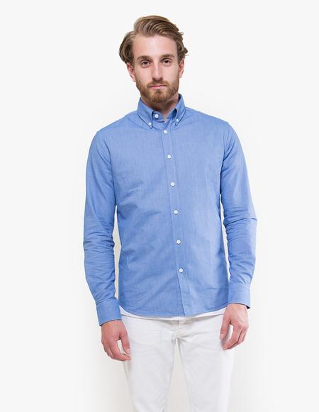 Capital Goods Heavy Oxford Shirt - bright blue